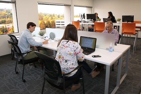 Pacific Workplaces - Walnut Creek - The Coworking Area