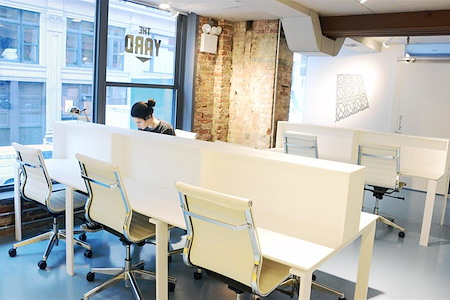 The Yard: Flatiron South - Open Coworking