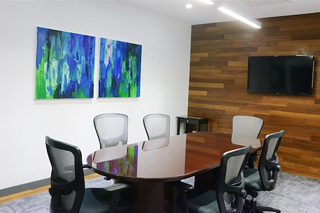 Capstone Executive Offices  - 30 Wall Street - Private Conference Room