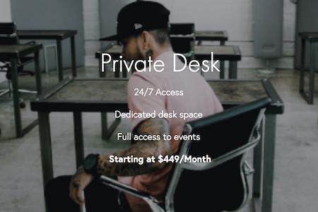 CTRL Collective | LoDo @ DAIRY BLOCK - Private Dedicated Desk