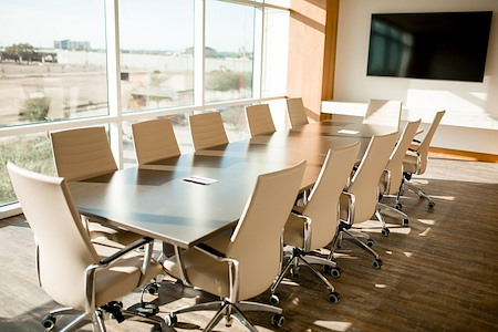 The Work Well - 12 Person Conference Room - Audio/Visual