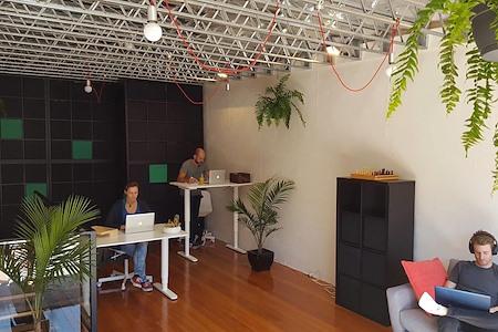 Merch Factory - Dedicated Desk.