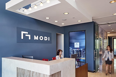 MODI Executive Offices - 5 Clustered Office with Private Glass