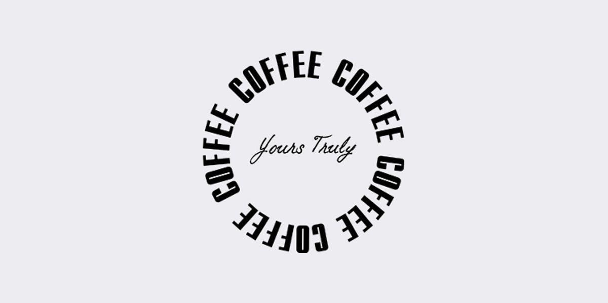 Logo of Yours Truly Coffee