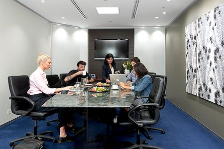 Servcorp Octagon Building - Premium Boardroom, seats 10 people