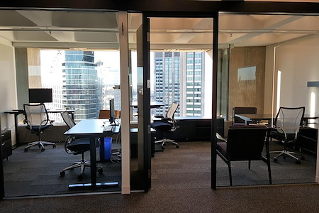 Business District - Office Suite for 4 with Stunning Views