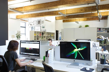 Perfect office location Williamsburg - Open Desk  with IMAC