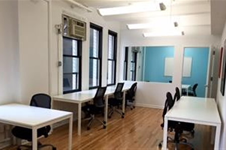 Amber Ventures: Bryant Park/ Midtown - Dedicated Desks (for Two to Four)