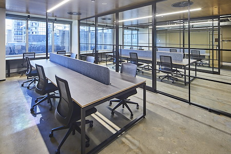 Space&Co. 580 George Street, level 10 - Open Plan Dedicated Desk