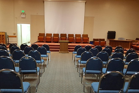San Jose Masonic Center - Red Lodge Room