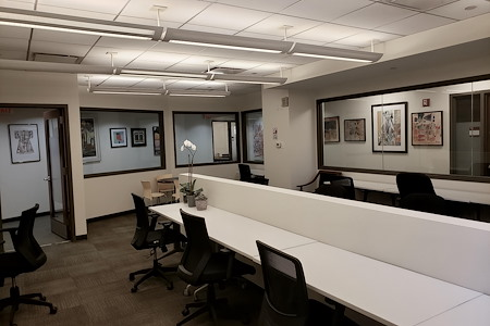 Bevmax Office Centers - Columbus Circle - 1107 - Team Suite 25 People