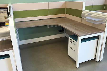 Alfi Trade Inc. - Well-lit open work space (desk 10)