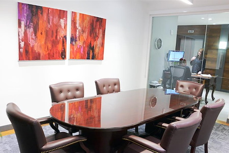 Capstone Executive Offices  - 30 Wall Street - Red Conference Room