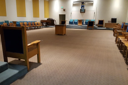 San Jose Masonic Center - Blue Lodge room