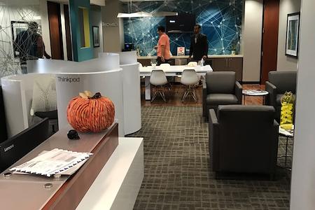 Regus- Wells Fargo Los Angeles - Open Desk