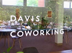 Logo of Davis Coworking, Upstairs
