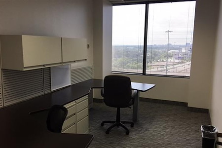 Golden Falls Properties, LP - Window Office - Downtown Dallas Views