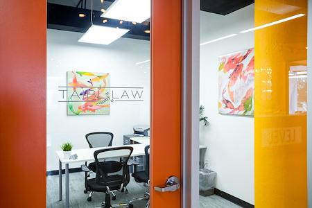 Novel Coworking Jacksonville - Office 213 Corner Window
