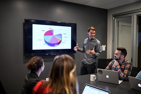 Cooperative Venture Workspace - Large Boardroom