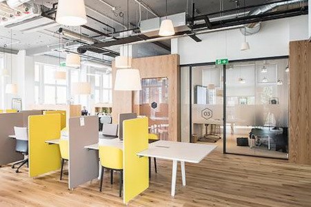 Regus-Oyster Point Co-Working and Office Space - Open Desk 1