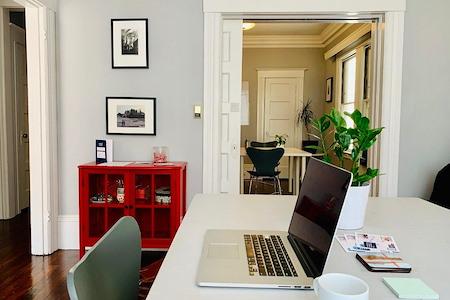 Codi - Cozy Fika @ Russian Hill - Quiet Open Desk X 8
