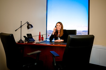 Servcorp - 555 California - Private Office, Day Suite 1
