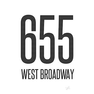 Logo of 655 West Broadway