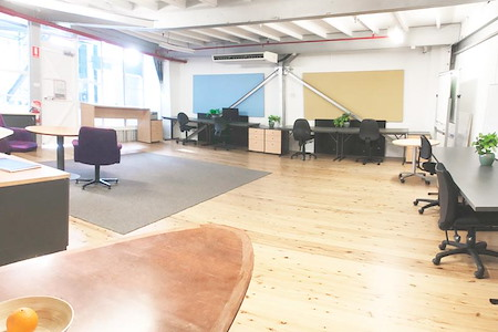 Waterview Wharf VR Offices - Enough space for your whole team