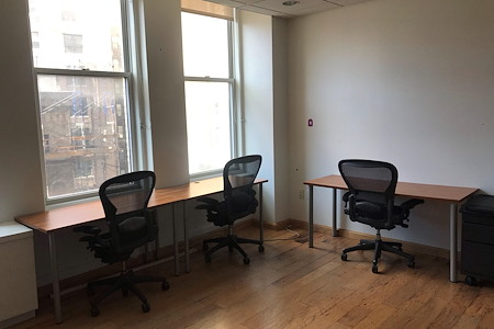 Coalition Space | Flatiron - Private Windowed Office Facing Broadway