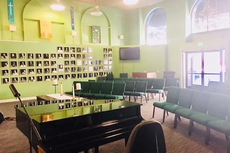 Saint Paulus Lutheran Church - Main meeting room