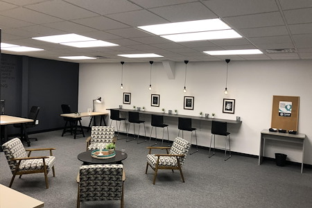 The IncuHub - Open Desk in Common Work Environment