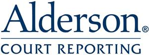 Logo of Alderson Court Reporting