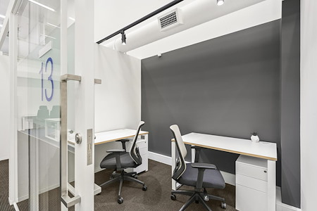 workspace365 - 555 Bourke Street - G12- 2 person office