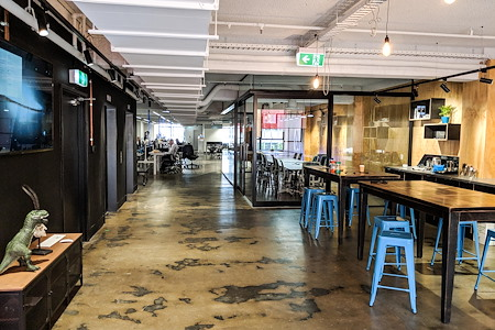 Orchestrated Systems Pty Ltd - Modern Melbourne Coworking on Collins.