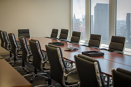 Golkow Conference Rooms - One Penn Plaza NYC - Boardroom Style Room