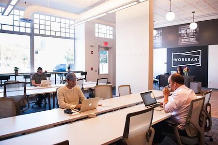 Workbar Union - Dedicated Desk