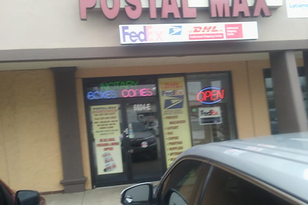 POSTAL MAX - affordable retail sublet option