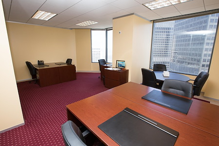 Servcorp - Downtown Los Angeles - Executive Office with views of Downtown LA from the 40th floor