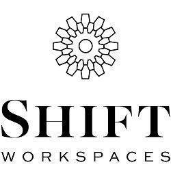 Logo of Shift Workspaces   Bannock