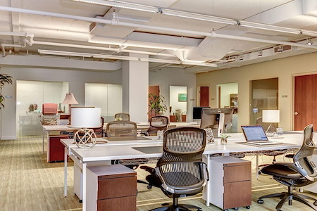 Carr Workplaces - Georgetown - Daily Workspace - Cafe Plan