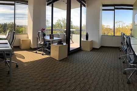 San Mateo - Mariners Island - Window Office #304 w/Private Balcony