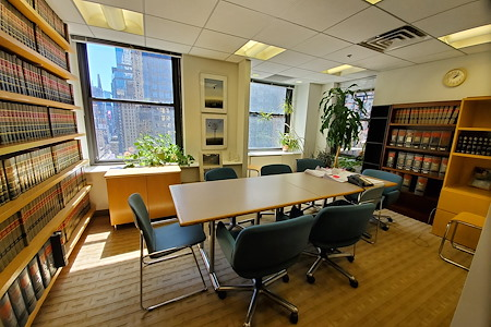 1776 Broadway Law Offices, conf. space & shared space - Conference and meeting room