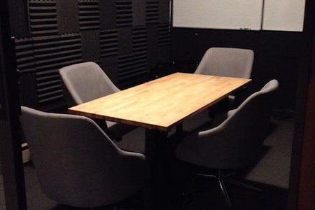 Starfish Mission - Emerging Tech Coworking Space - Tesla Meeting Room/Podcast Room
