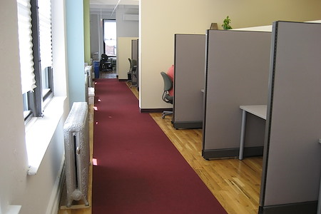 Coalition Space | Chelsea - Windowed Cubicle/Dedicated Desk