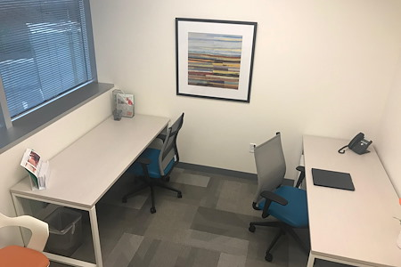 Office Evolution - Tysons Corner - 108 - 3 Person Office with Window View