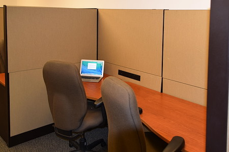R.K. Black Office - Open Desk 6