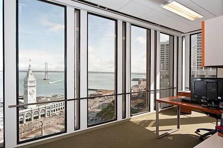 Carr Workplaces - Embarcadero Center - 1469 - Stunning Multi Window Bay Views