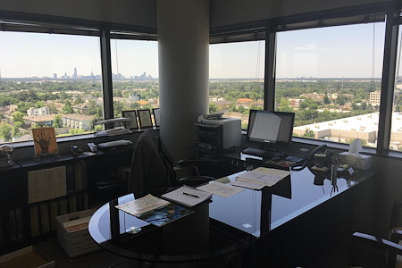 The Law Office of Derek U Obialo - Associate Office with window view