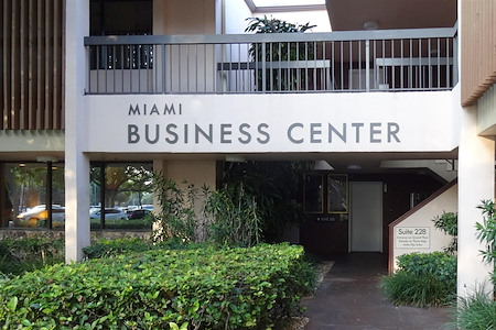 Goldbetter Miami Office Business & Conference Center - Flexible Options - Interior option