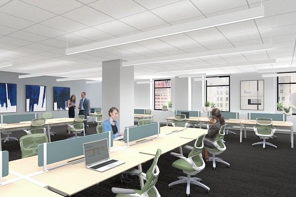 Work Better - 40 Wall St - Customizable Suite for 10-13 People